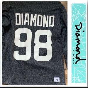 Diamond Supply Co.  98 Crewneck Pullover EUC